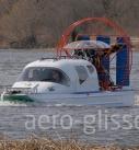 аэроглиссер на воде